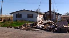 New Orleans-Katrina-8b50 house Stock Footage