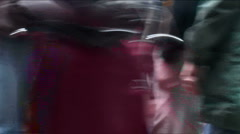 Crowded Market Stock Footage