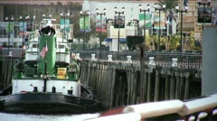 Stock Video Footage of New Orleans-tugboat27