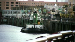 New Orleans-tugboat27med Stock Footage