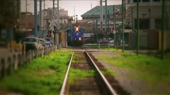 New Orleans-Train Stock Footage