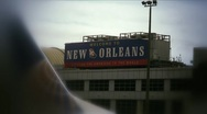 Stock Video Footage of Airline-welcome new orleans