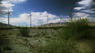 Windmill Farm 18 Stock Footage