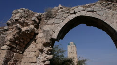 Ramla antiquities P1 Stock Footage