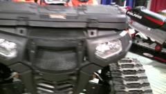 Snowmobile Expo 12 Stock Footage