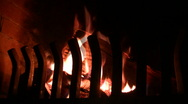 Cosy Fireplace Stock Footage
