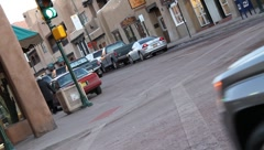 Downtown Santa Fe 0566 Stock Footage