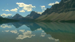 Bow Lake 04 Stock Footage