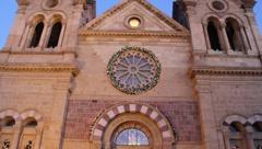 Santa Fe Catholic Church 0578 Stock Footage