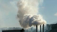Röyhtäilyä savupiippujen Arkistovideo
