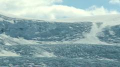 Athabasca Glacier TL 02 Stock Footage