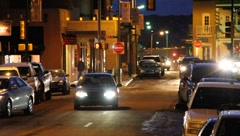 Santa Fe at Night 0597 Stock Footage