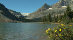 Bow Lake 03 Stock Footage