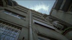 Socialist Architecture Flats - stock footage