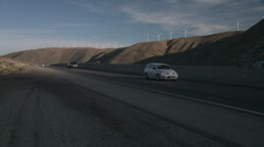 Tehachapi Pass Wind Farm 2 Stock Footage