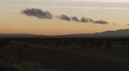 Tehachapi Pass Sunset Timelapse Stock Footage
