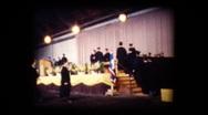 School Graduation ceremony Stock Footage