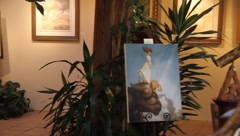 Art Gallery 0420 Stock Footage