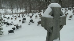 Cemetery 02 - stock footage