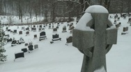 Cemetery 02 Stock Footage
