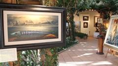 Art Gallery 0415 Stock Footage