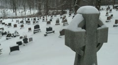 Cemetery 03 - stock footage