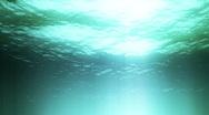 Seamless underwater scene Stock Footage