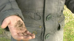 Dirty Little Hands Stock Footage