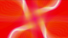 Abstract laser ray light tech energy signal turbine wind windmill background. Stock Footage