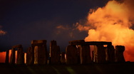Stock Video Footage of Stonehenge, England, sunset time lapse, exclusive on Pond5