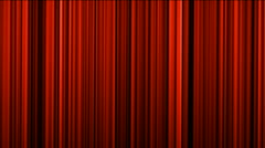 Red stage curtain,theater curtain,vertical lines background.carpets,weaving,text Stock Footage
