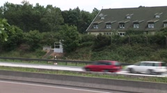 German Freeway Stock Footage