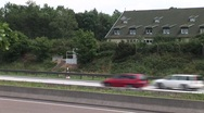 Stock Video Footage of German Freeway