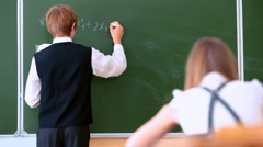 School lesson Stock Footage