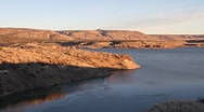 Stock Video Footage of lake cochiti dam
