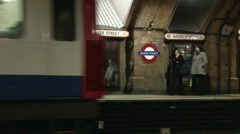 London Underground - Baker Street 2 - stock footage