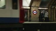 London Underground - Baker Street 2 Stock Footage