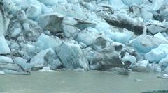 Glacier melt 03 Stock Footage