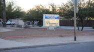 Tucson tragedy - shots of church of one of the heros - Darwin Stoddard -3 Stock Footage