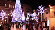 Christmas in Matera Stock Footage