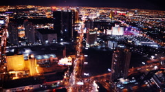 Stock Video Footage of Stratosphere Time lapse Vegas