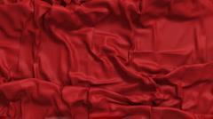 Sliding cloth Stock Footage