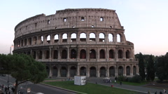 Italy, Rome, Colosseo Stock Footage