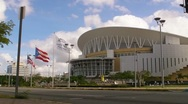 Stock Video Footage of Puerto Rico Coliseum - Choliseo 1 HD