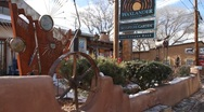 Stock Video Footage of Downtown Santa Fe 0297