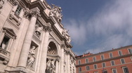 Italy, Rome, Trevi Fountain Stock Footage