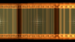Vintage film strip, loop Stock Footage