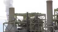 Stock Video Footage of Old Industrial Buildings