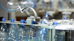 Water factory Stock Footage