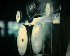 Stock Video Footage of Industrial Machine 1